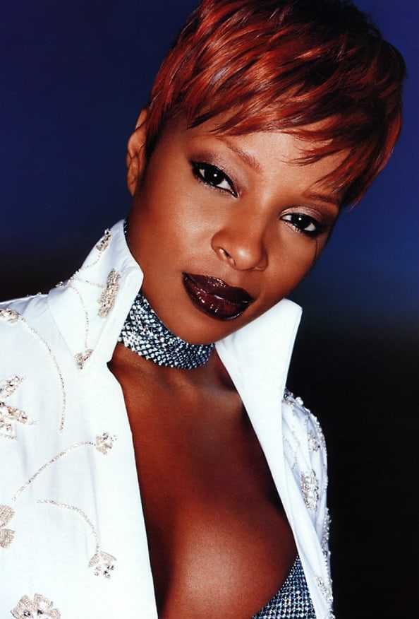 Mary J. Blige  nackt