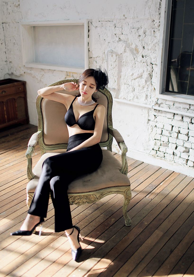 Son Yoon Joo Temperament Bra Picture and Photo 1