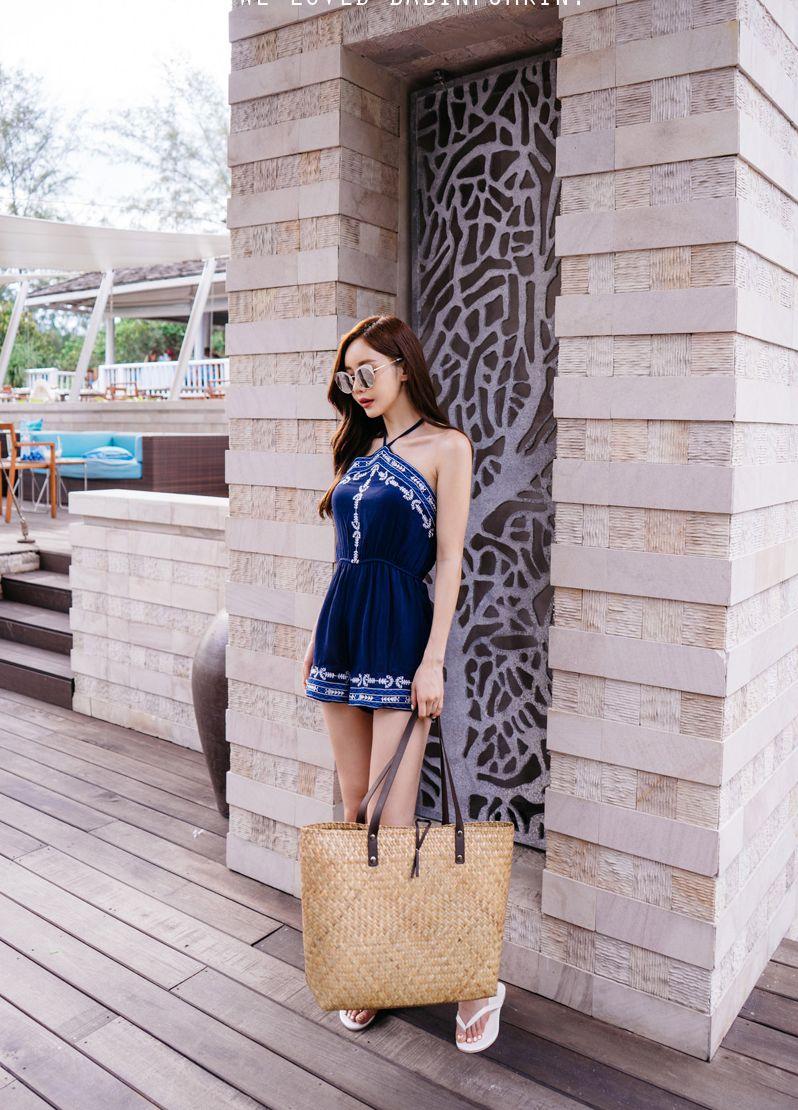 Son Yoon Joo 2017 Phuket Island Skirt Picture Series 1