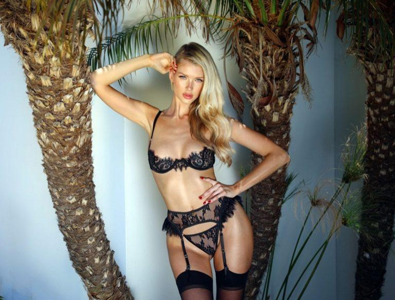 Eats Lingerie launches their new Lingerie collection featuring Erin Cummins as she looks mind-blowing in the lingerie shoot