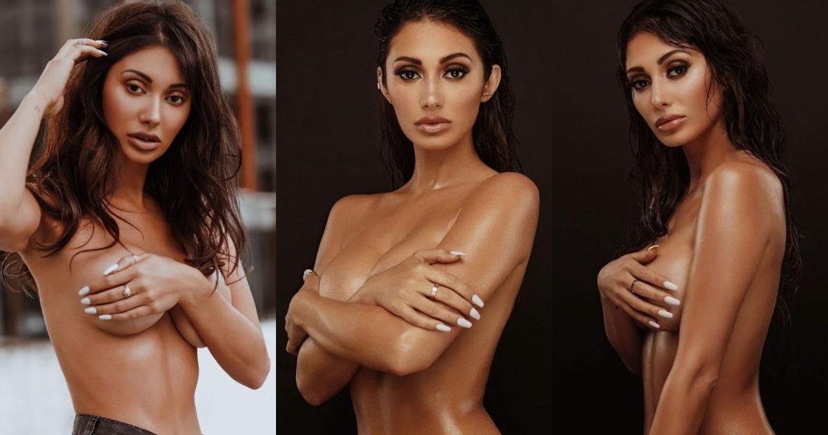 Francesca Farago Shows Her Sensational Curves