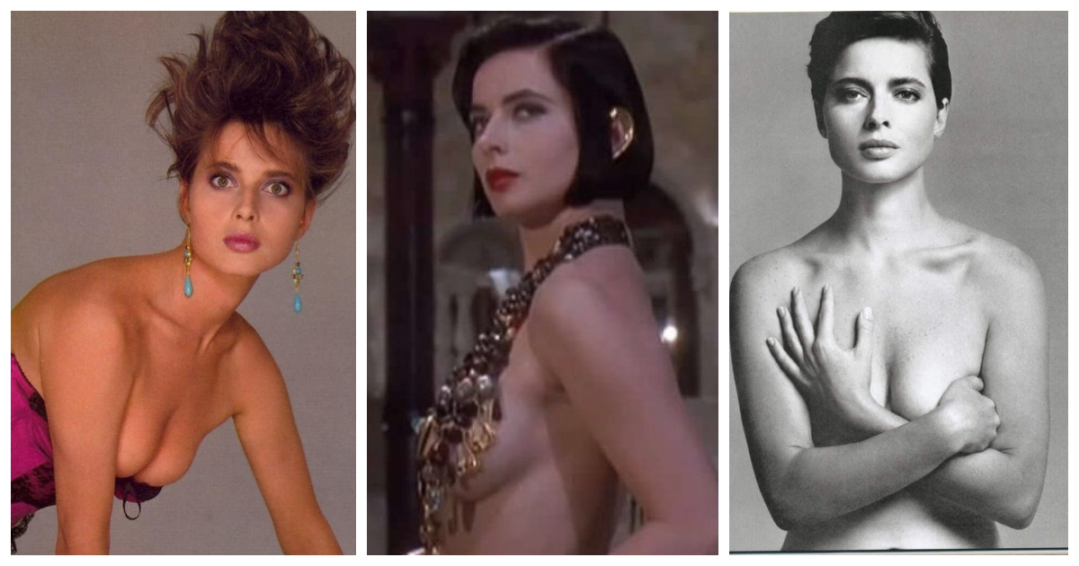 35 Isabella Rossellini Nude Pictures Which Are Impressively Intriguing