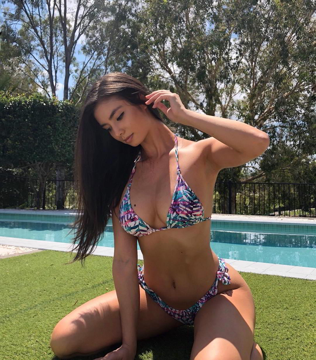 Kristy Chan Three Country Mixed Beautiful Woman